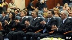Инагурација на претседателот Ѓорге Иванов, 2009-та година.