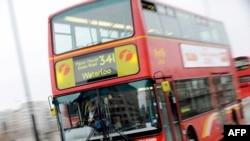 Автобус на улицах Лондона