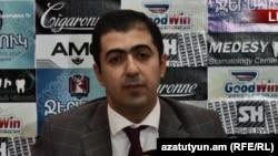 Адвокат второго президента Армении Арам Орбелян, Ереван, 5 сентября 2018 г.