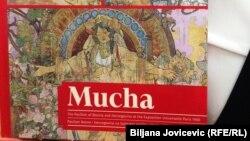 """Naslovnica monografije """"Mucha - Paviljon Bosne i Hercegovine na Svjetskoj izložbi u Parizu 1900."""", Prag, 22. juni 2016."""