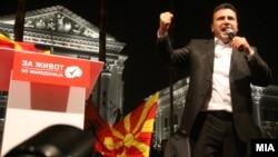Zoran Zaev (Foto nga fushata elektorale)