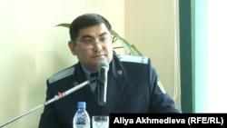 Алматы облысы табиғатты қорғау прокурорының орынбасары Руслан Босатбек.