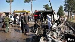 آرشیف، انفجار در هرات