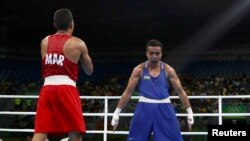 Шахрам Гиясов празднует свою победу в стиле Криштиану Рональду.