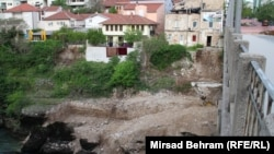 Radovi na izgradnji kolektora otpadnih voda u Mostaru, 1 maj 2017.