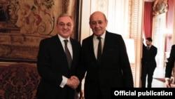 Հայաստանի և Ֆրանսիայի ԱԳ նախարարների հանդիպումներից, արխիվ