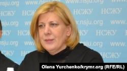 Представитель Организации по безопасности и сотрудничеству в Европе по вопросам свободы СМИ Дуня Миятович