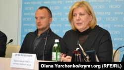 Ukraine, Kyiv - Dunja Mijatovic, the OSCE Representative on Freedom of Speech, 11Oct2016