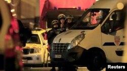 Полиция в Рубе, городе на севере Франции