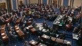 Сенат США голосует против импичмента Трампу: как это было