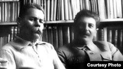 Максим Горький и Иосиф Сталин