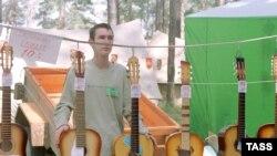 Ильменский фестиваль бардовской песни объединяет несколько поколений бардов - вплоть до самых юных