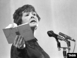 Бэла Ахмадуліна. 1984 год