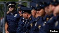 Полицейские в Грузии.