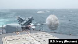 Crucișătorul american USS Leyte Gulf (CG 55)
