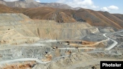 Armenia - Gold mines at Sotk.