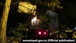 Снос киосков в Севастополе, иллюстрационное фото