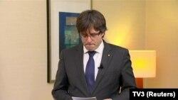 Сменетиот каталонски претседател Карлес Пучдемон