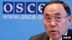 OSCE Chairman in Office Kanat Saudabaev says his government will deepen the OSCE's humanitarian engagement in Afghanistan
