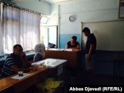 یکی از حوزههای انتخاباتی آنکارا، ۱۹ مرداد ۱۳۹۳. عکس: عباس جوادی / رادیو فردا