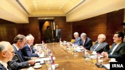 Iranian Foreign Minister Mohammad-Javad Zarif and EU Foreign Policy Chief Josep Borrell met in New Dehli on January 16, 2020.