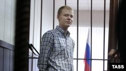 Володимир Подрєзов в залі суду, Москва, 10 вересня 2015 року