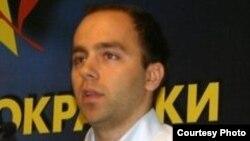 Дарко Давитковски, претседател на Социјалдемократската младина на Македонија.