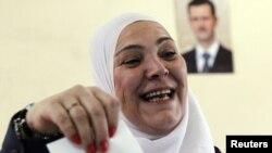 Голосование на парламентских выборах в Сирии, Дамаск, 7 мая 2012