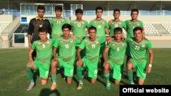 Молодежная сборная Таджикистана по футболу. Фото с сайта Федерации футбола Таджикистана