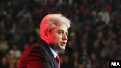 Али Ахмети, лидер на ДУИ