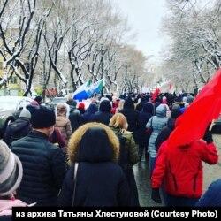 Шествие в Хабаровске