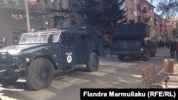 Vozila kosovske policije, ilustracija