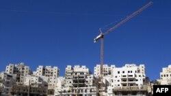 Cartierul israelian Har Homa construit pe înălțimile Ierusalimului răsăritean