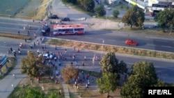 """Инцидентот на навивачката група """"Комити"""" и жителите на Нерези"""