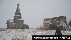 Russia's unique heritage of wooden architecture -- particularly, but not only, churches -- is relentlessly being lost.