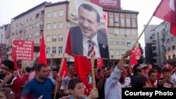"""Собир во организацијата на Сојузот на турски невладини организации """"Матусутеб"""". Фотографија на интернет порталот Новатв."""