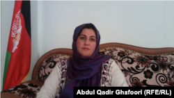 Masooma Anwari, the head of the provincial women's directorate in Ghor.
