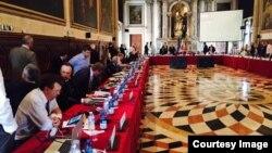 Zasedanje Venecijanske komisije, fotoarhiv