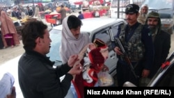 Anti polio campaign in Swat, Pakistan.