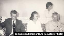 Iunie 1971. În timpul vizitei în China, cuplul Ceaușescu se întâlnește cu Ciu En Lai. E începutul unei mari iubiri. Sursa: comunismulinromania.ro (MNIR)