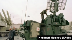 Зенитно-ракетный комплекс «Тор-М1»