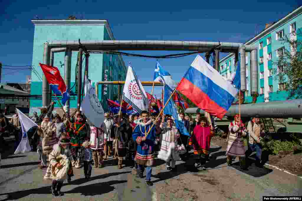 На севере Красноярского края, на полуострове Таймыр, проживают пять различных этнических групп со своими уникальными традициями и языками.