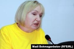 Тамара Калеева, президент фонда «Адил соз». Алматы, 10 сентября 2012 года.