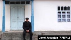 Аким Кожоев Депшаар кыштагында. Жерге-Тал, Тажикстан. Архив.