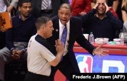 Тренер команды Los Angeles Clippers недоволен решением арбитра