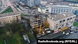 «Елітбудгруп» зводить новий бізнес-центр на місці знесеної будівлі, яку придбала у 2016-му