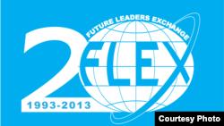 Simboli i programit FLEX për vitin e kaluar kur u shënua 20 vjetori i aktivitetit