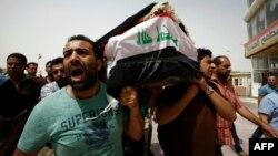 سوگواران حمله کراده در نجف