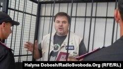Руслан Коцаба в залі суду, 4 червня 2015 року
