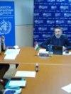 Пресс-конференция миссии ВОЗ. Душанбе, 12 мая 2020 года
